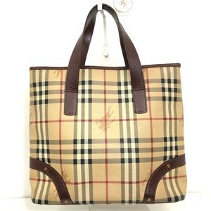 Authentic Burberry Vintage Tote Bag
